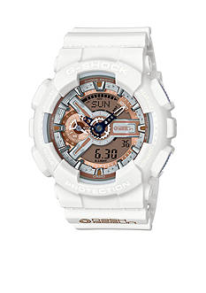 Casio Men's Dash Berlin Limited Edition White Ana-Digi Watch