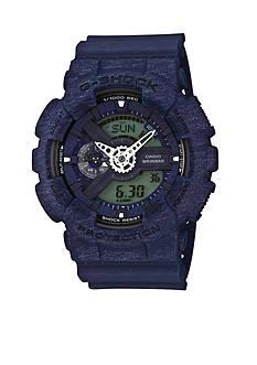 G-Shock Men's Blue Heathered XL Case Ana-Digi Watch