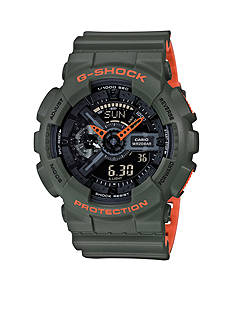 G-Shock Men's G-Shock Ana Digi Green Watch