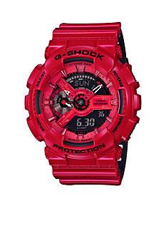 Glossy Red Ana-Digi G-Shock Watch