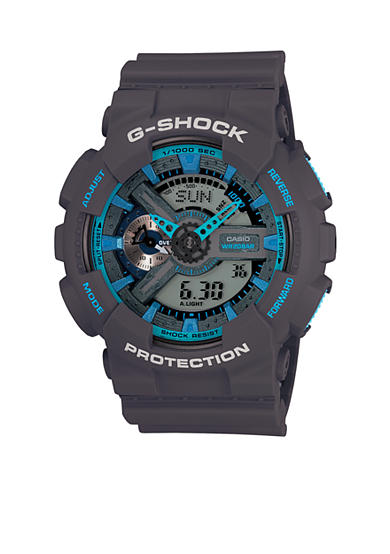 G-Shock Blue and Grey XL Case G-Shock Watch