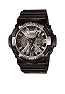 G-Shock Black Analog-Digital with Chrome Bezel