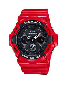 G-Shock Men's Red and Black Ana-Digi Watch