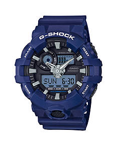G-Shock Men's Blue and Black Ana-Digi G-Shock Watch