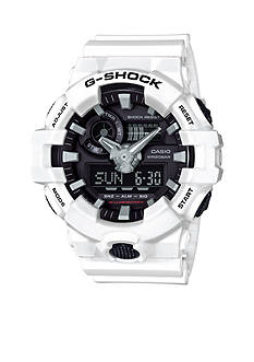 G-Shock Men's White and Black Ana-Digi G-Shock Watch
