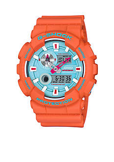 G-Shock In4mation Limited Edition Milestones Orange Watch