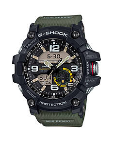 G-Shock Men's Olive Green Band Mudmaster Watch