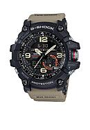 G-Shock Men's Black with Brown Band Mudmaster