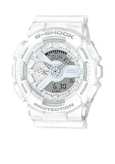 G-Shock Women's All White S Series Watch