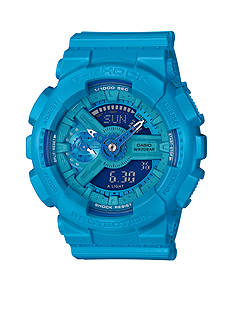 Women's Bright Blue Ana-Digi G-Shock Watch