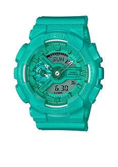 Women's Teal Ana-Digi G-Shock Watch