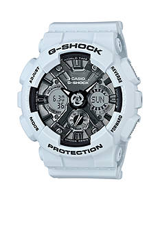 Men's Light Blue Metallic Ana-Digi S-Series G-Shock Watch