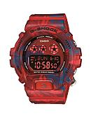 G-Shock Red Floral Pattern S Series G-Shock Watch