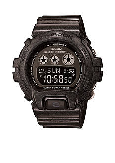 Black Metallic Digital G-Shock Watch