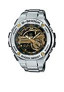 G-Shock Men's Silver and Gold G-Steel Watch