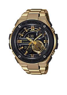 Gold IP Ana-Digi G-Steel G-Shock Watch