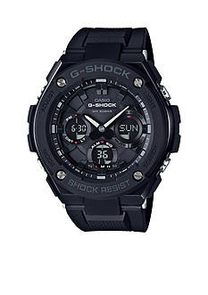 G-Shock Men's Blackout G-Steel with Resin Band Watch
