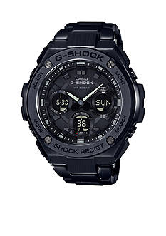G-Shock Men's G-Shock Black IP G-Steel Watch