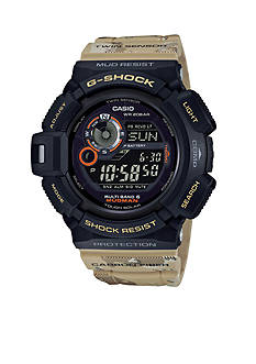 G-Shock Stainless Steel Camo Print Band Mudmaster Watch