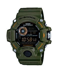 Green Rangeman G-Shock Watch