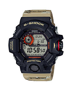 G-Shock Stainless Steel Camo Print Band Rangeman Watch