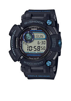 G-Shock Men's Black Triple Sensor Frogman Watch