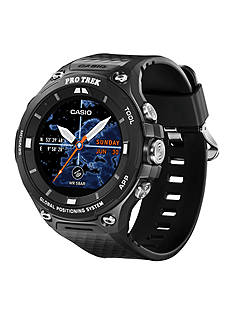 Casio Men's Black Smartwatch