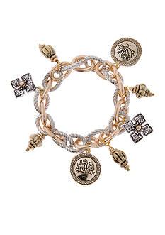 Kim Rogers Tri-Tone Chain Bracelet