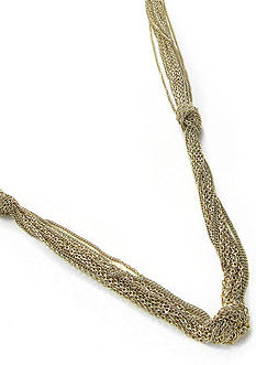 Erica Lyons Gold-Tone Mine Necklace