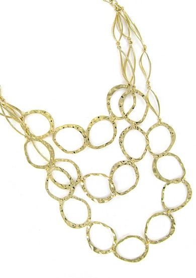 Erica Lyons Gold-Tone Link Necklace