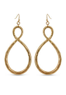 Erica Lyons Gold-Tone Pierced Earrings