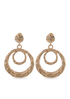 Erica Lyons Gold Metal Update Earrings