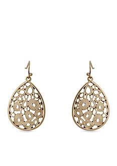 Erica Lyons Teardrop Earrings