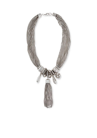 Erica Lyons Silver-Tone Metal Necklace