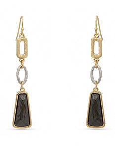 Erica Lyons Trifecta Triple Drop Earrings