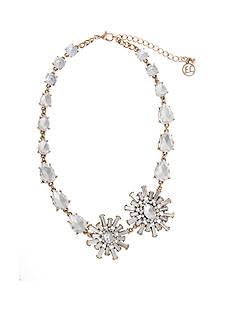 Erica Lyons Gold-Tone Estate Sale Stone Burst Collar Necklace