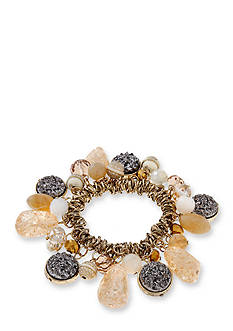 Erica Lyons Over The Taupe Shaky Stretch Bracelet