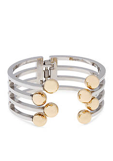 Erica Lyons Lets Do The Twist Collection Bar Hinge Bracelet