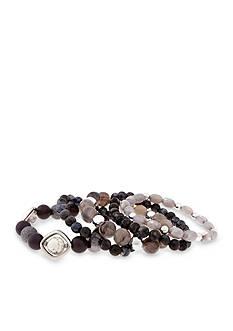 Erica Lyons Silver-Tone 5 Piece Stretch Bracelet