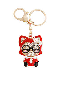 Erica Lyons Kitty Key Chain Boxed Gift