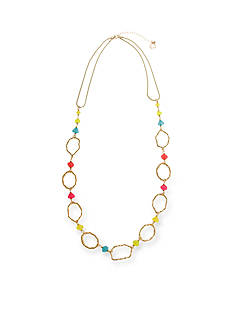 Erica Lyons Gold-Tone Brighten Your Day Long Necklace