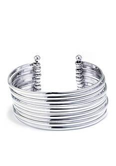 Belk Silverworks Silver Plated Silverworks Cuff Bracelet
