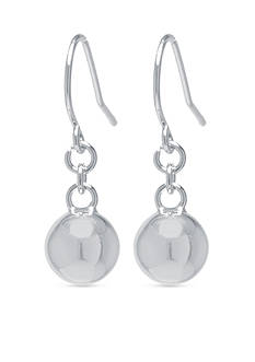 Belk Silverworks 8-mm. Ball Drop Earring in Fine Silver Plate
