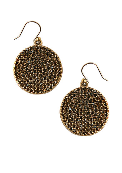 Lucky Brand Pave Earrings