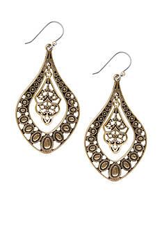 Lucky Brand Jewelry Oblong Earrings