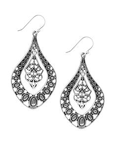 Lucky Brand Oblong Earrings