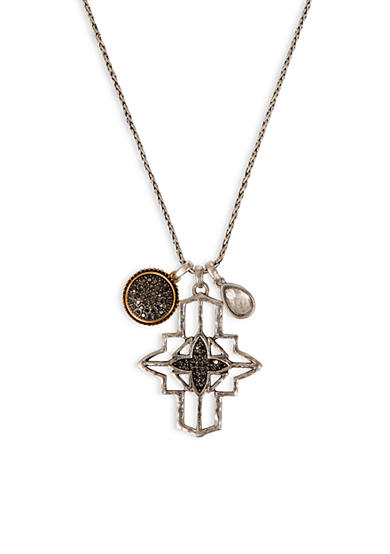 Lucky Brand Cross Pendant Necklace