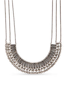 Lucky Brand Jewelry Textured Collar Necklace