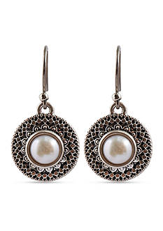 Lucky Brand Jewelry Pearl Small Drop Earring