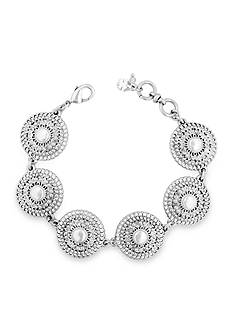 Lucky Brand Silver-Tone Link Chain Bracelet